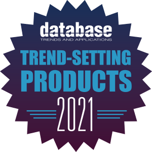 DBTA - Trend-Setting Products for 2021 badge