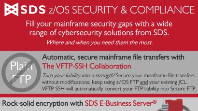 SDS mainframe security compliance infosheet
