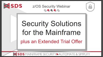 SDS Security Solutions - slides from April 2020 webinar