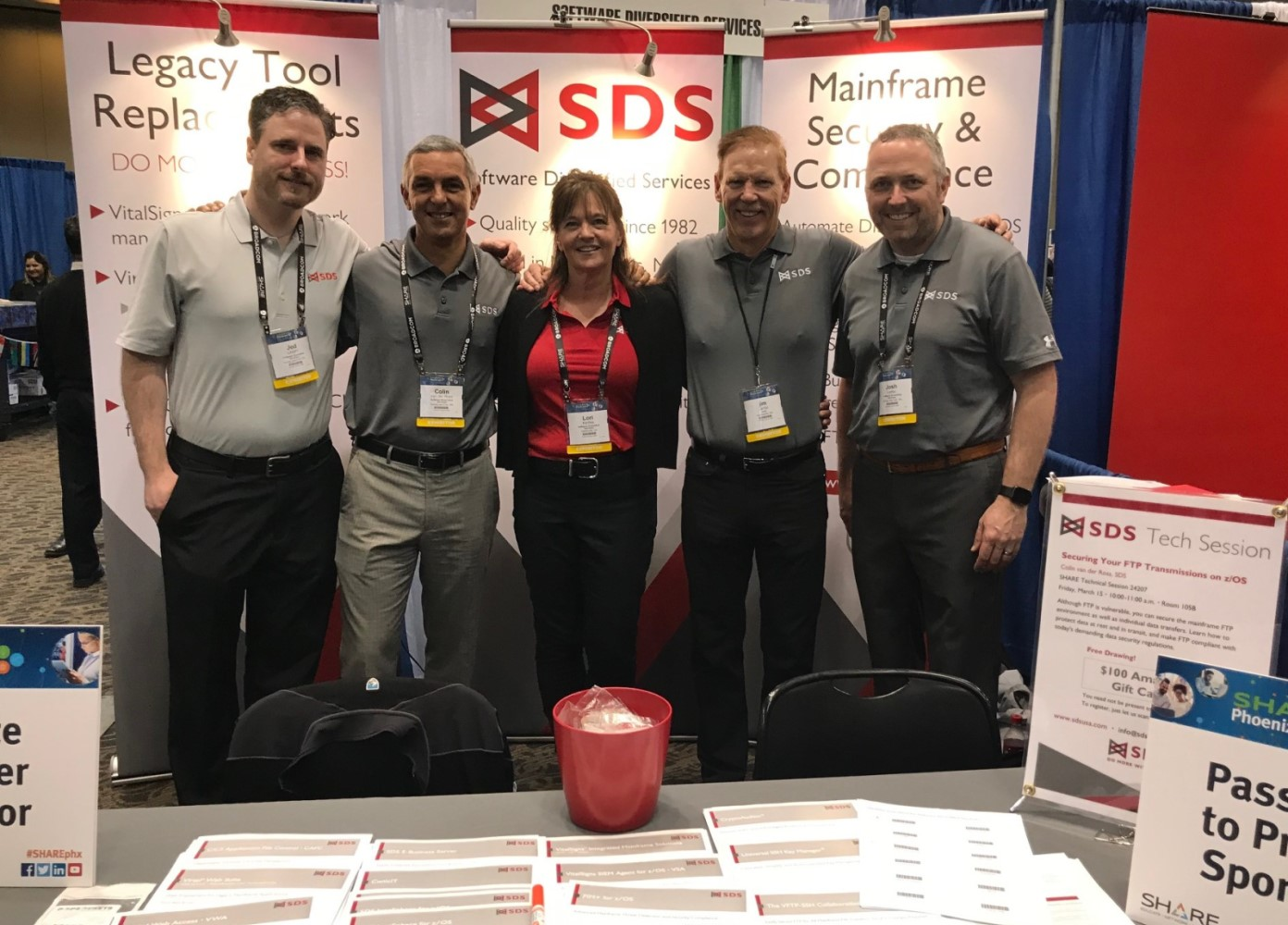 SHARE Phoenix 2019: SDS Booth