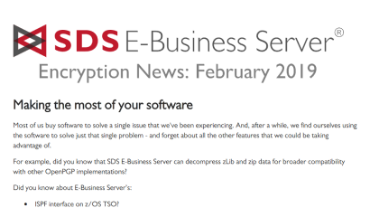 EBS Encryption News: Jan 2019