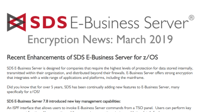 EBS Encryption News - March 2019