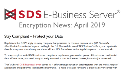 EBS Encryption News: Apr 2019