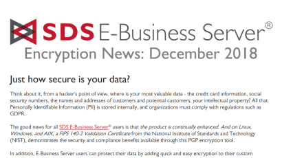 EBS Encryption News: Dec 2018
