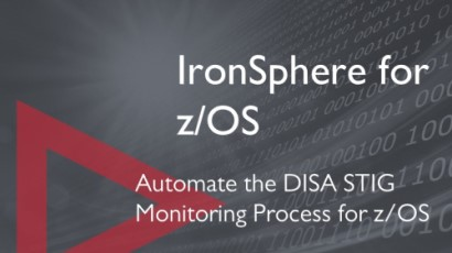 IronSphere for z/OS home page