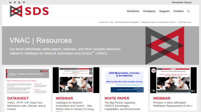 VNAC Resources page