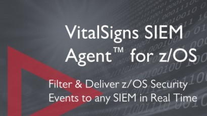 VitalSigns SIEM Agent for z/OS home page