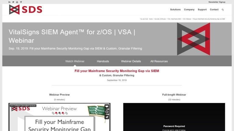 VSA webinar - Sep 2019
