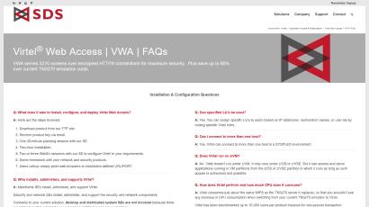 VWA FAQ